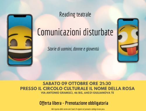 Comunicazioni disturbate – reading teatrale